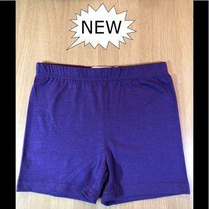 Bike Shorts, Purple, Girls, Various Sizes.